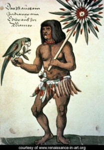Amazon Indian by Theodore de Bry