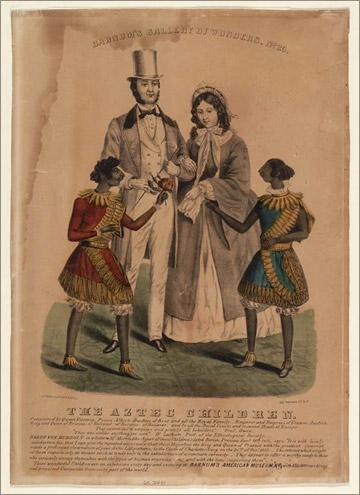 Aztec Children Barnum Poster